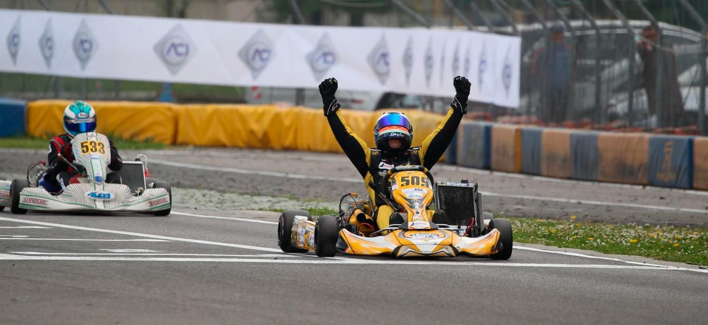 Centioni Federico vincitore 1° Prova Campionato Italiano 2016
