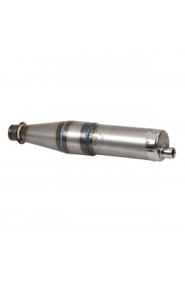Marmitta dritta Ø110/100mm - Cono 48,5 - Spessore 0,6mm