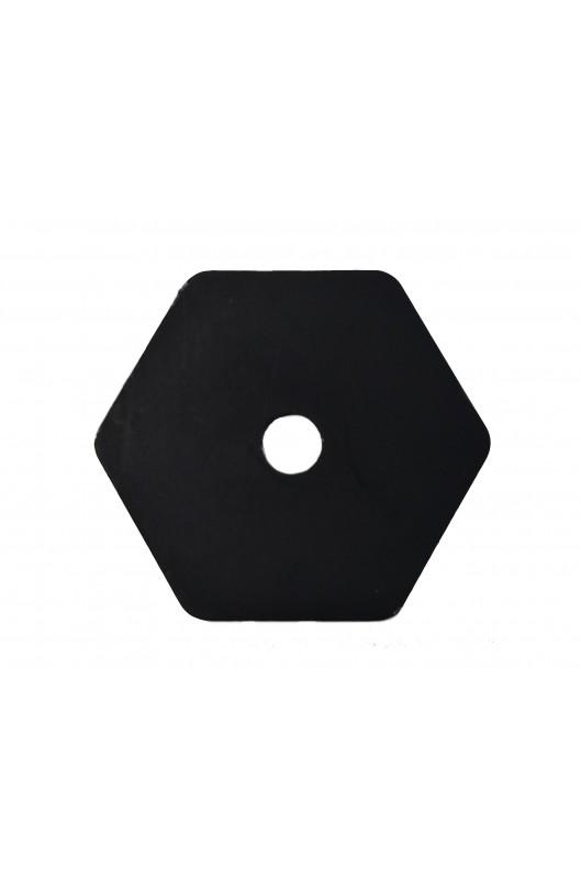 Rondella rinforzo sedile esagonale AL.