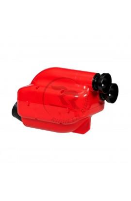 Silenziatore d'Aspirazione NOX2 D.30mm Rosso/Nero (KZ/KZ2)