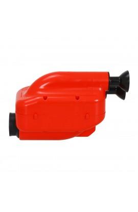 Silenziatore d'Aspirazione NOX2 D.23mm Rosso/Nero (Ok/J-Ok)