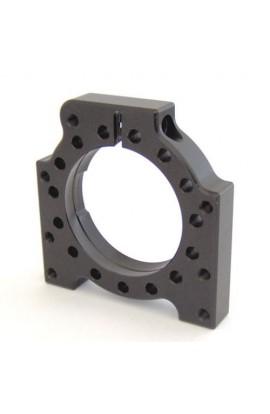 Guscio 4 Fori 40/50mm In Alluminio Nero