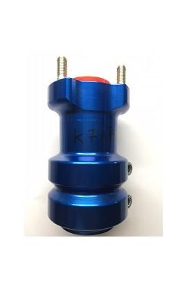 Mozzo in Alluminio Anodizzato, 40/115-8 Blu, Righetti Ridolfi