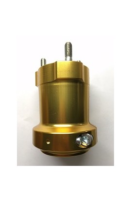 Mozzo in Alluminio Anodizzato 50/95-8 Oro, Righetti Ridolfi
