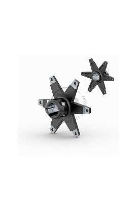 Portacorona a 6 Razze D.30mm in Alluminio Nero