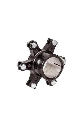 Porta disco Flottante D.50mm in Alluminio Nero