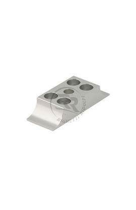 Cavallotto Leggero 28x92mm in Alluminio Naturale