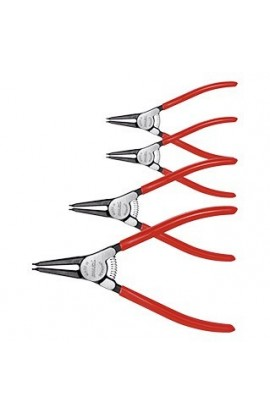 Set di pinze per anelli di sicurezza, 4 pezzi, per anelli esterni 4 HOLEX