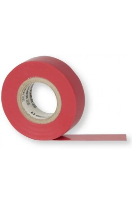 Nastro Isolante In PVC Premium Rosso 0,19X19mmX20m Berner
