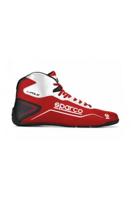 Scarpa Sparco Kart K-Pole Colore Rosso/Bianco