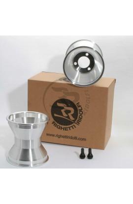 """Coppia Cerchi DSR, modello ALS, 5"""" L.145mm D.40/58 In Alluminio"""