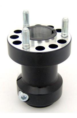 Mozzo Posteriore MiniKart/BabyKart 30X65mm In Alluminio
