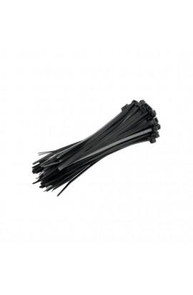 Fascette Per Cavi Con Linguetta In Nylon (Da Elettricista) 3.5X200mm (Media) Nera
