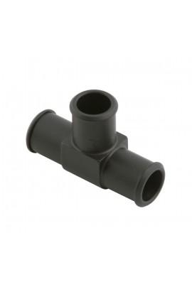 Raccordo a T per tubi acqua in alluminio anodizzato