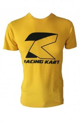 T-Shirt TK Racing Kart Nero/Giallo