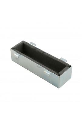 Supporto batteria in acciaio